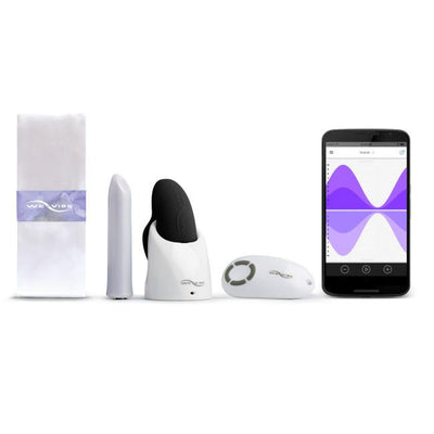 We-Vibe - Passionate Play Collection Couple's Vibrator Gift Set (Black) - PleasureHobby