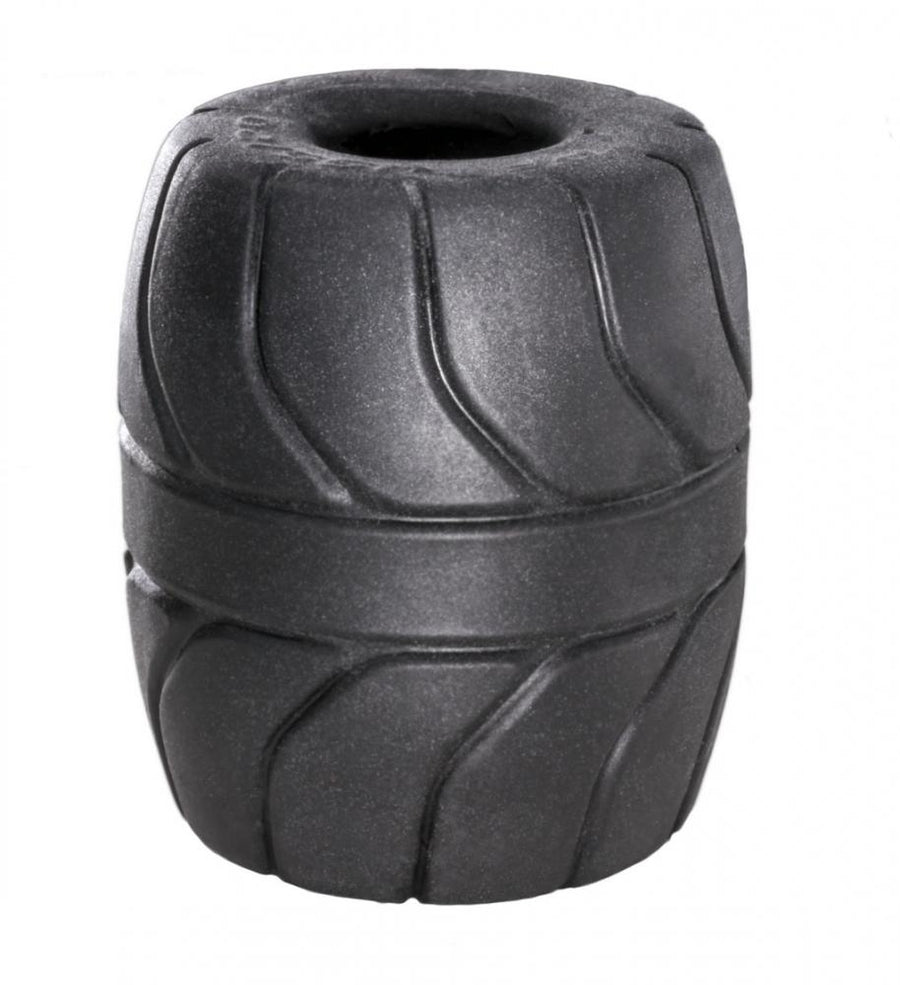 "Perfect Fit - Silaskin Ball Stretcher Cock Ring 2.0"" (Black)"