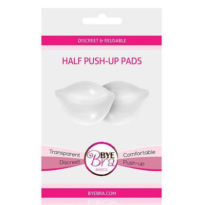 Bye Bra - Discreet and Reusable Half Push-Up Pads (Clear) Costumes