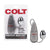 California Exotics - COLT Multi Speed Power Bullet Pak Universal Egg with Remote (Silver)