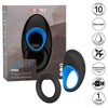 California Exotics - Link Up Max Vibrating Cock Ring (Black) Silicone Cock Ring (Vibration) Rechargeable Durio Asia