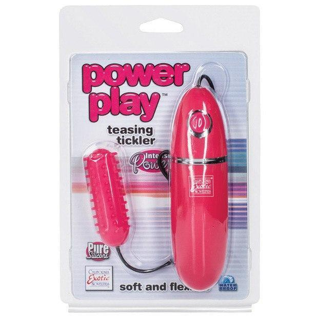 California Exotics - Power Play Teasing Tickler (Red)