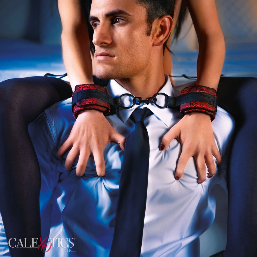 California Exotics - Scandal Universal Cuffs (Red) Hand/Leg Cuffs