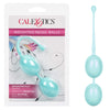 California Exotics - Weighted Kegel Balls (Blue) Kegel Balls (Non Vibration) 716770090393 CherryAffairs