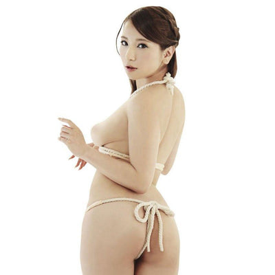 Erox - Forbidden SM Rope (White) Costumes - CherryAffairs Singapore
