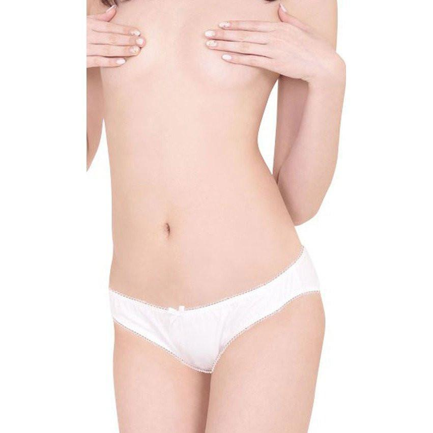 Erox - Kororin Cotton Panties (White) Lingerie (Non Vibration) - CherryAffairs Singapore