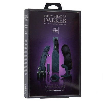 Fifty Shades Darker - Dark Desire Advanced Bondage Couples Kit BDSM Set Durio Asia