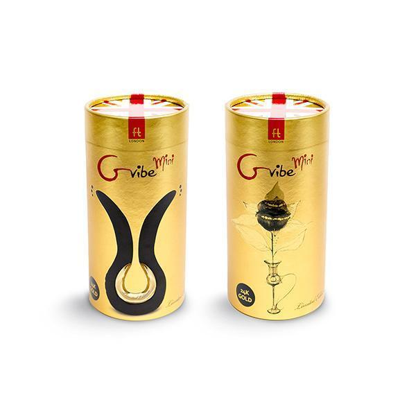 Fun Toys - Gvibe Anatomical Vibrator Mini (Gold) Anatomical Massager (Vibration) Rechargeable Singapore
