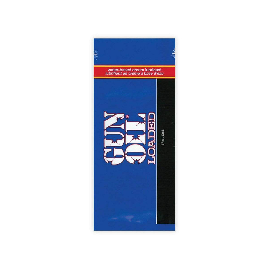 Gun Oil - Loaded Water Based Cream Lubricant 5ml Lube (Silicone Based) 892172001509 CherryAffairs