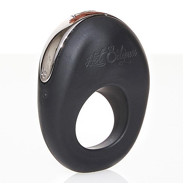 Hot Octopuss - Atom Rechargeable Silicone Cock Ring (Black) Silicone Cock Ring (Vibration) Rechargeable Durio Asia