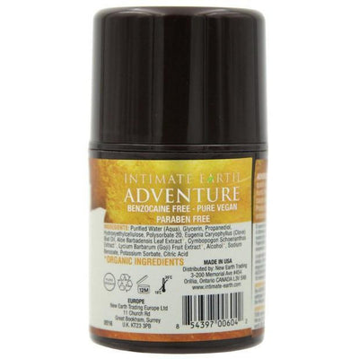 Intimate Earth - Adventure Anal Relaxing Serum 1 Ounce (Lube) Lube (Water Based) - CherryAffairs Singapore