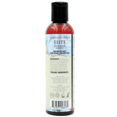 Intimate Earth - Elite Silicone Shiitake Glide 60 ml (Blue) Lube (Silicone Based) - CherryAffairs Singapore