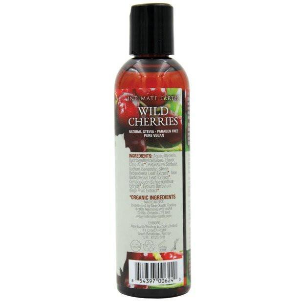 Intimate Earth - Lubricant Wild Cherries 120 ml (Red)