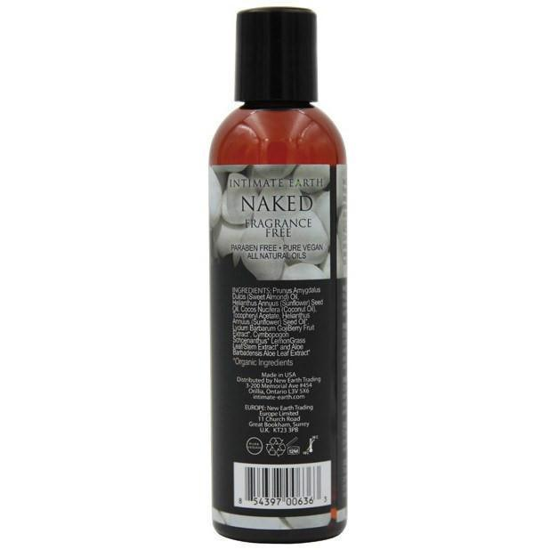 Intimate Earth - Massage Oil Naked 240 ml (Brown) Massage Oil Durio Asia