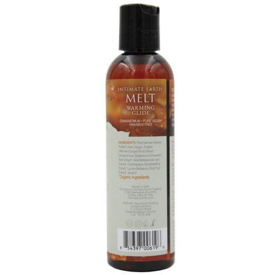 Intimate Earth - Melt Warming Lubricant 60 ml (Orange) Warming Lube - CherryAffairs Singapore