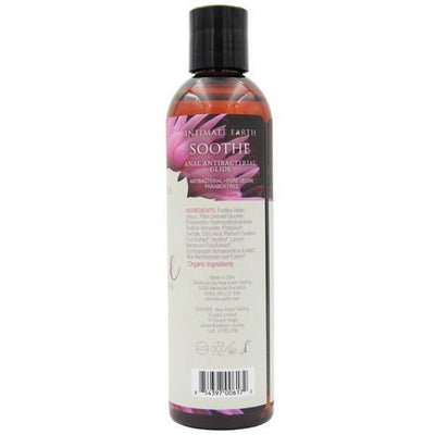 Intimate Earth - Soothe Anti-Bacterial Anal Lubricant 240 ml (Lube) Lube (Water Based) - CherryAffairs Singapore