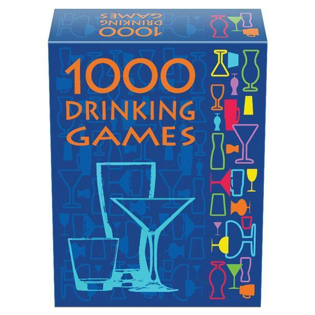 Kheper Games - 1000 Drinking Card Games (Blue) Games Durio Asia