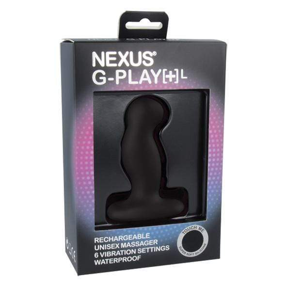 Nexus - G Play Plus Rechargeable Prostate Massager Large (Black)