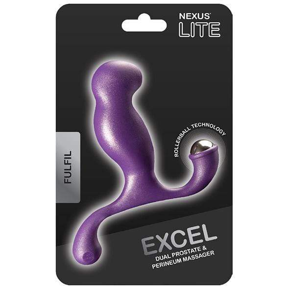 Nexus - Lite Excel Fulfil Prostate Massager (Purple) Prostate Massager (Non Vibration) 5060274220035 CherryAffairs