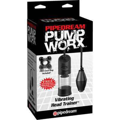 Pipedream - Pump Worx Vibrating Head Trainer