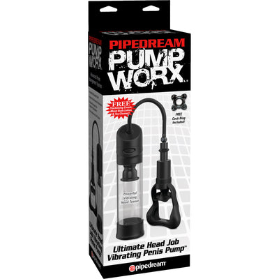 Pipedream - Pump Worx Ultimate Head Job Vibrating Penis Pump
