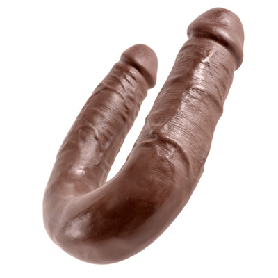 Pipedream - King Cock Double Trouble Dildo Medium (Brown)