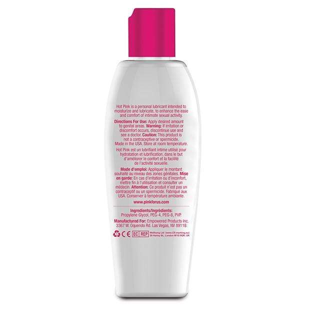 Pink - Hot Pink Gentle Warming Lubricant for Woman 4.7oz