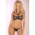 Pink Lipstick - 2 Pieces Strap Lust Lace Bra Set M/L (Black)