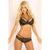 Pink Lipstick - 2 Pieces Strapped In Bra and Cheeky Panty Set M/L (Black)