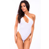 Pink Lipstick - Off The Wall Seamless Bodysuit Costume M/L (White) Costumes 017036686993 CherryAffairs