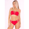 Pink Lipstick - Truth Or Bare 2 Pieces Bra Set M/L (Red) Lingerie (Non Vibration) 278326334 CherryAffairs