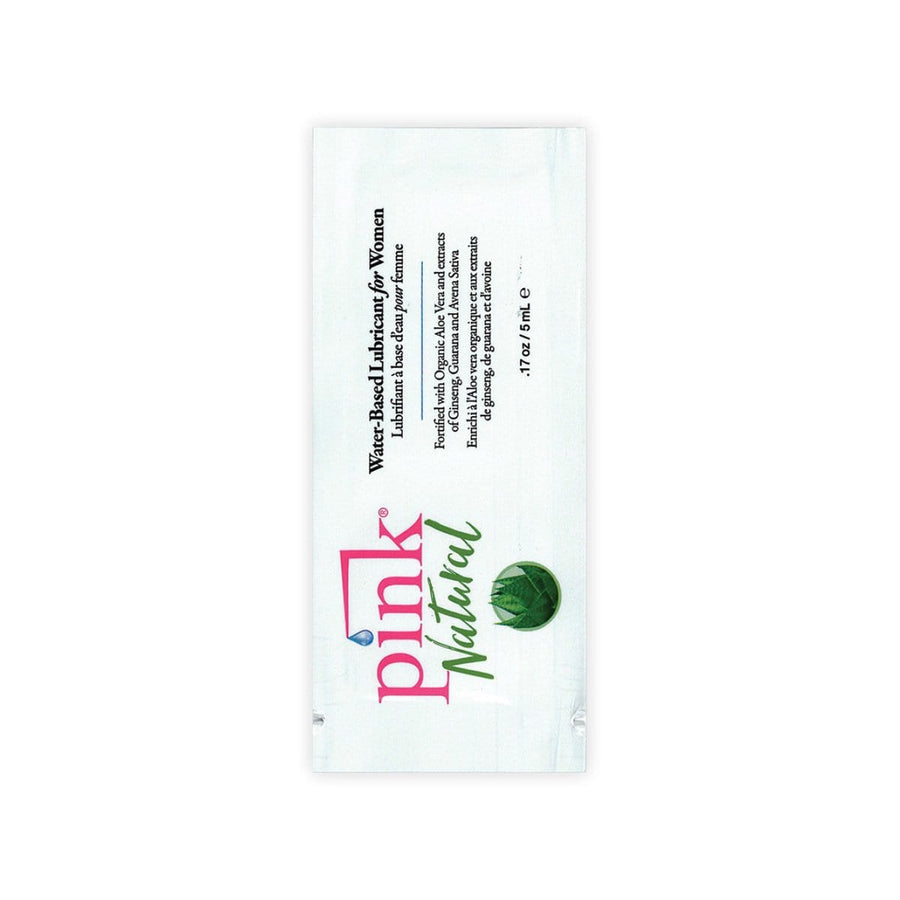 Pink - Natural Water Based Lubricant for Women 5ml