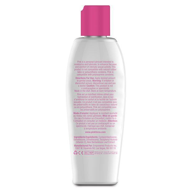 Pink - Silicone Lubricant for Woman 4.7oz
