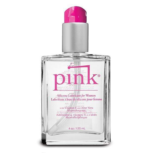 Pink - Silicone Lubricant for Woman 4oz Lube (Silicone Based) 813362024139 CherryAffairs