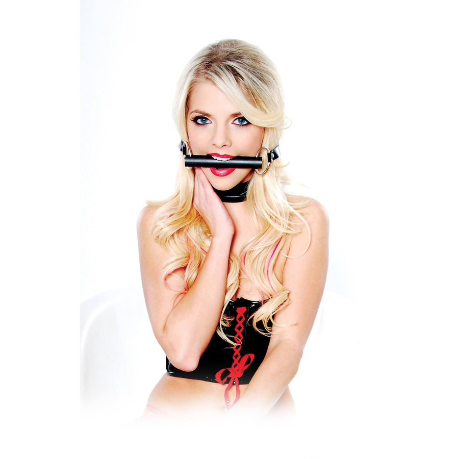 Pipedream - Fetish Fantasy Series Beginner's Bit Gag (Black) Ball Gag - CherryAffairs Singapore