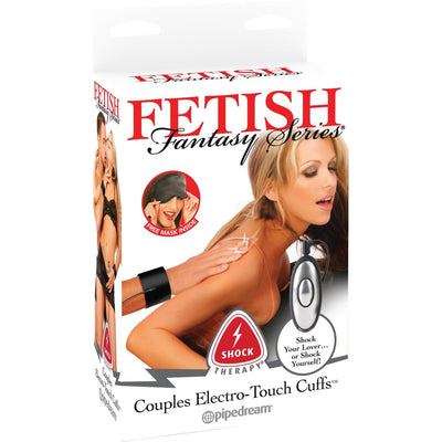 Pipedream - Fetish Fantasy Series Shock Therapy Couples Electro Touch Cuffs (Black) Electrosex - CherryAffairs Singapore