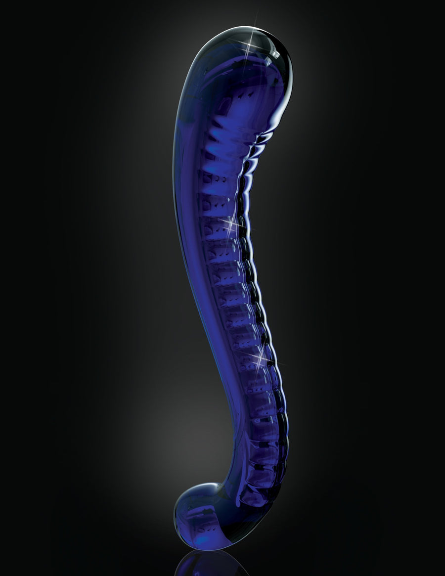 Pipedream - Icicles No 70 Hand Blown Massager (Blue) Glass Dildo (Non Vibration) Singapore