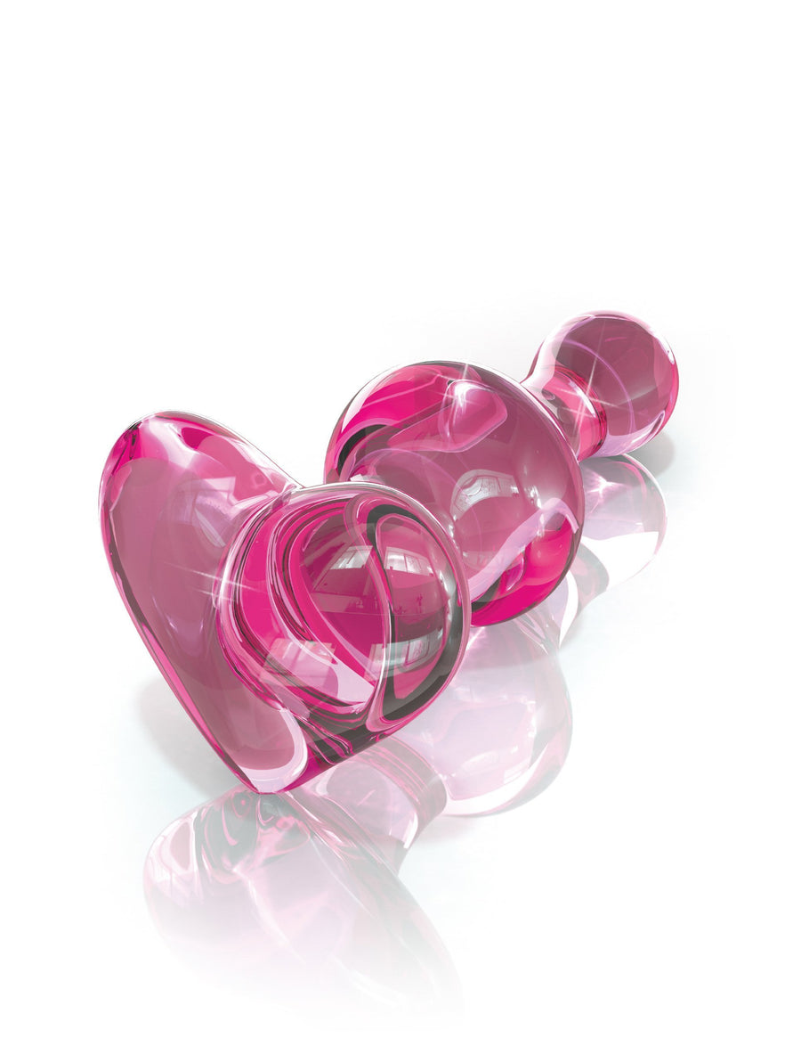 Pipedream - Icicles No 75 Hand Blown Massager (Pink) Glass Anal Plug (Non Vibration) Singapore