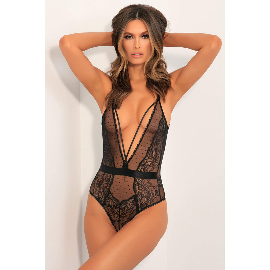 Rene Rofe - Aim To Tease Bodysuit Costume M/L (Black)