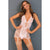 Rene Rofe - Deconstruct Me Chemise 2 Pieces Set M/L (White)