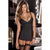 Rene Rofe - Hollywood Chemise with G String M/L (Black)
