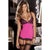 Rene Rofe - Hollywood Chemise With G String M/L (Pink)