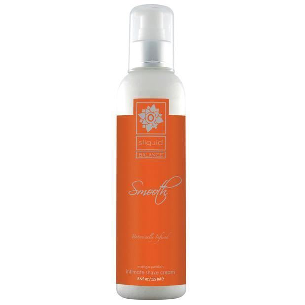 Sliquid - Balance Smooth Intimate Shave Cream 8.5 oz Mango Passion (Orange) Shaving Cream Singapore
