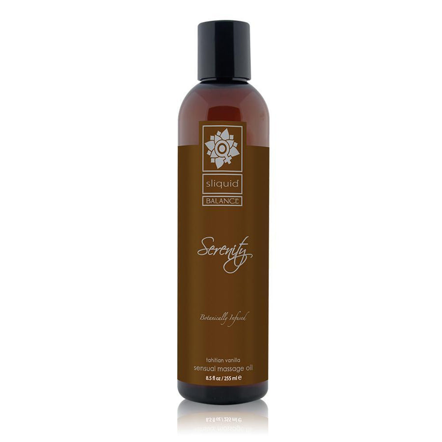 Sliquid - Balance Tahitian Vanilla Serenity Massage Oil 8.5 oz