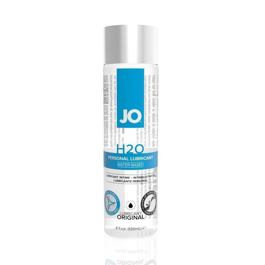 System JO - H2O Lubricant 120 ml (Lube) Lube (Water Based) - CherryAffairs Singapore