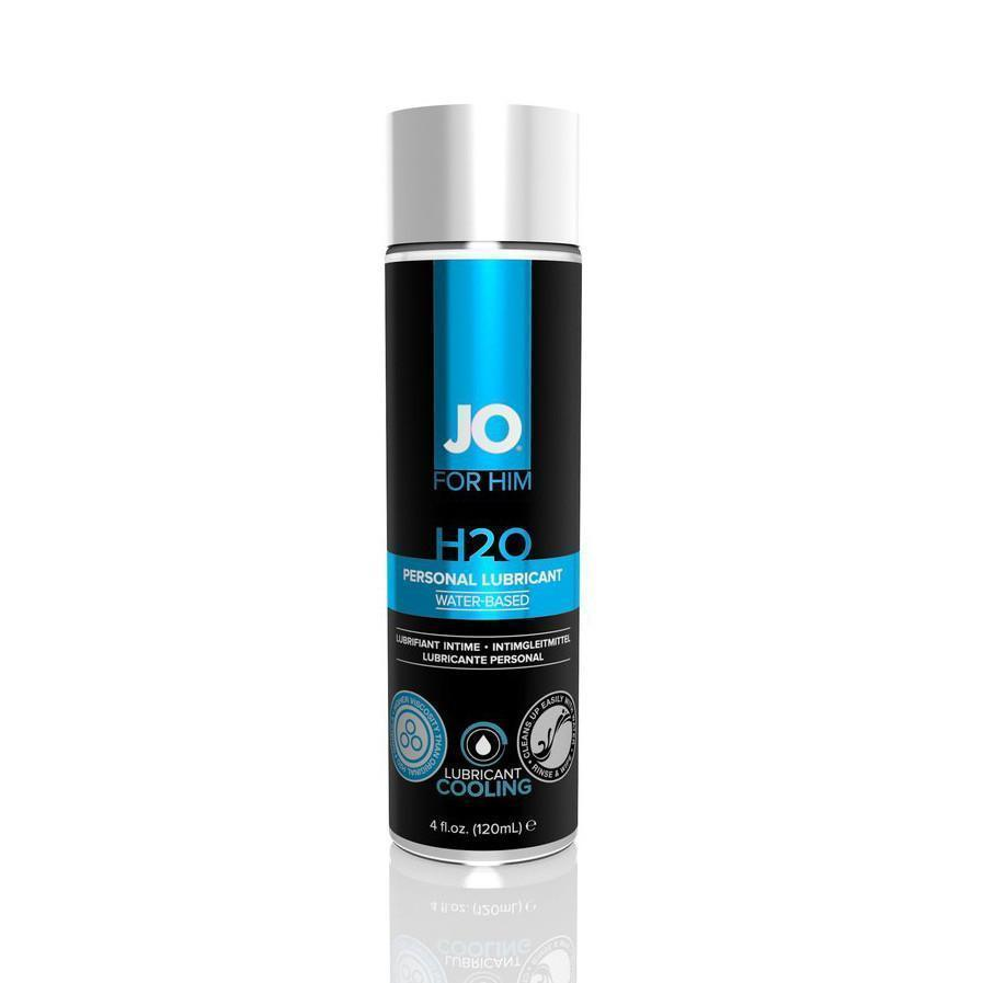 System JO - Men H2O Lubricant 120 ml (Cooling) Cooling Lube - CherryAffairs Singapore