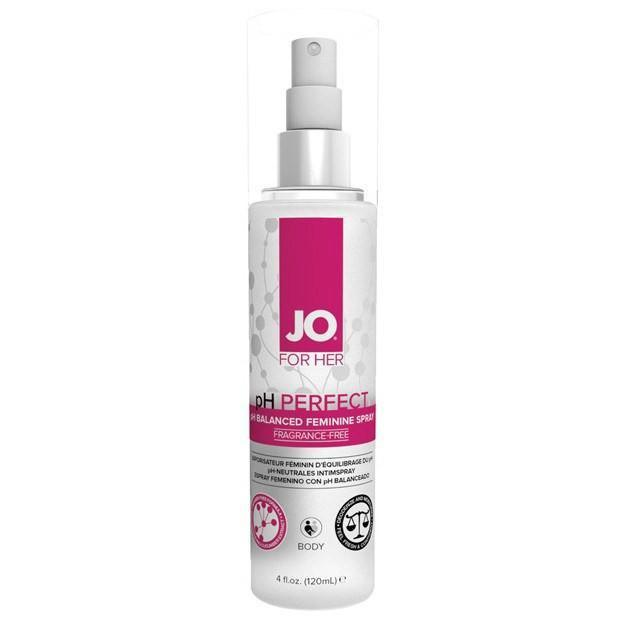 System Jo - Perfect Feminine Spray 4 Ounce (White) Feminine Wash - CherryAffairs Singapore