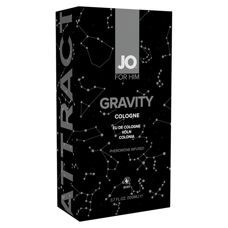System Jo - Pheromone Gravity Cologne For Him (Black) Pheromones - CherryAffairs Singapore