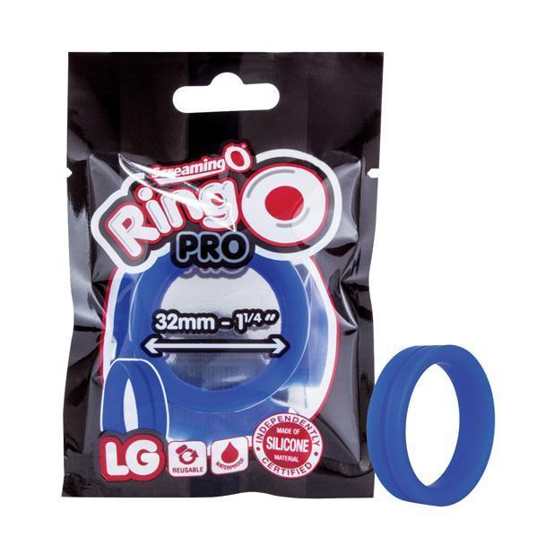 The Screaming O - Ring O Pro Silicone Cock Ring Large (Blue)