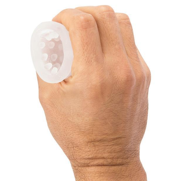 TheScreamingO - Jackits MANsturbation Soft Stroker Sleeve (Clear)